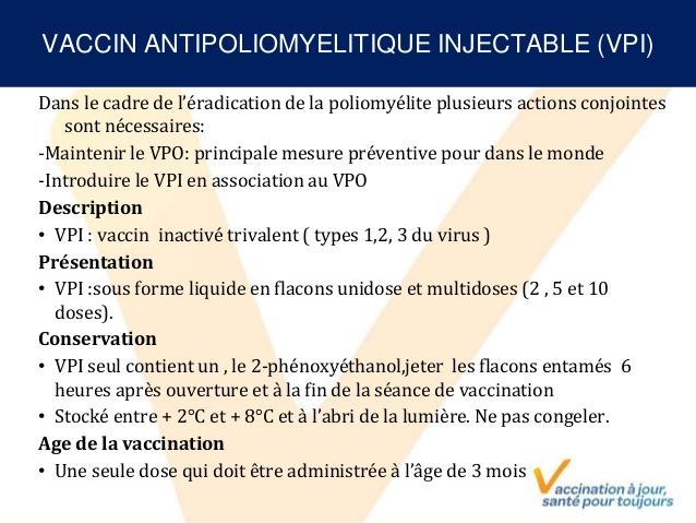 vaccin 3 mois algerie