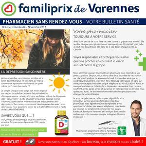 vaccin grippe boucherville