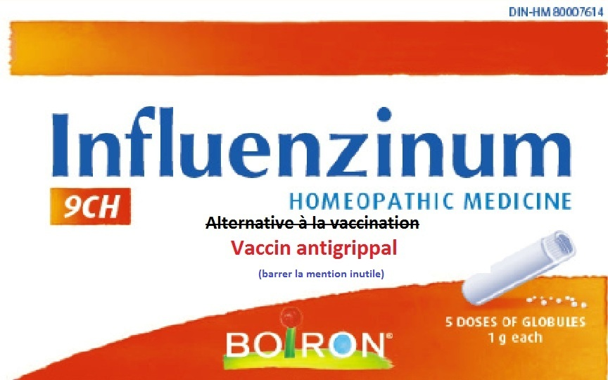 vaccin grippe homeopathie