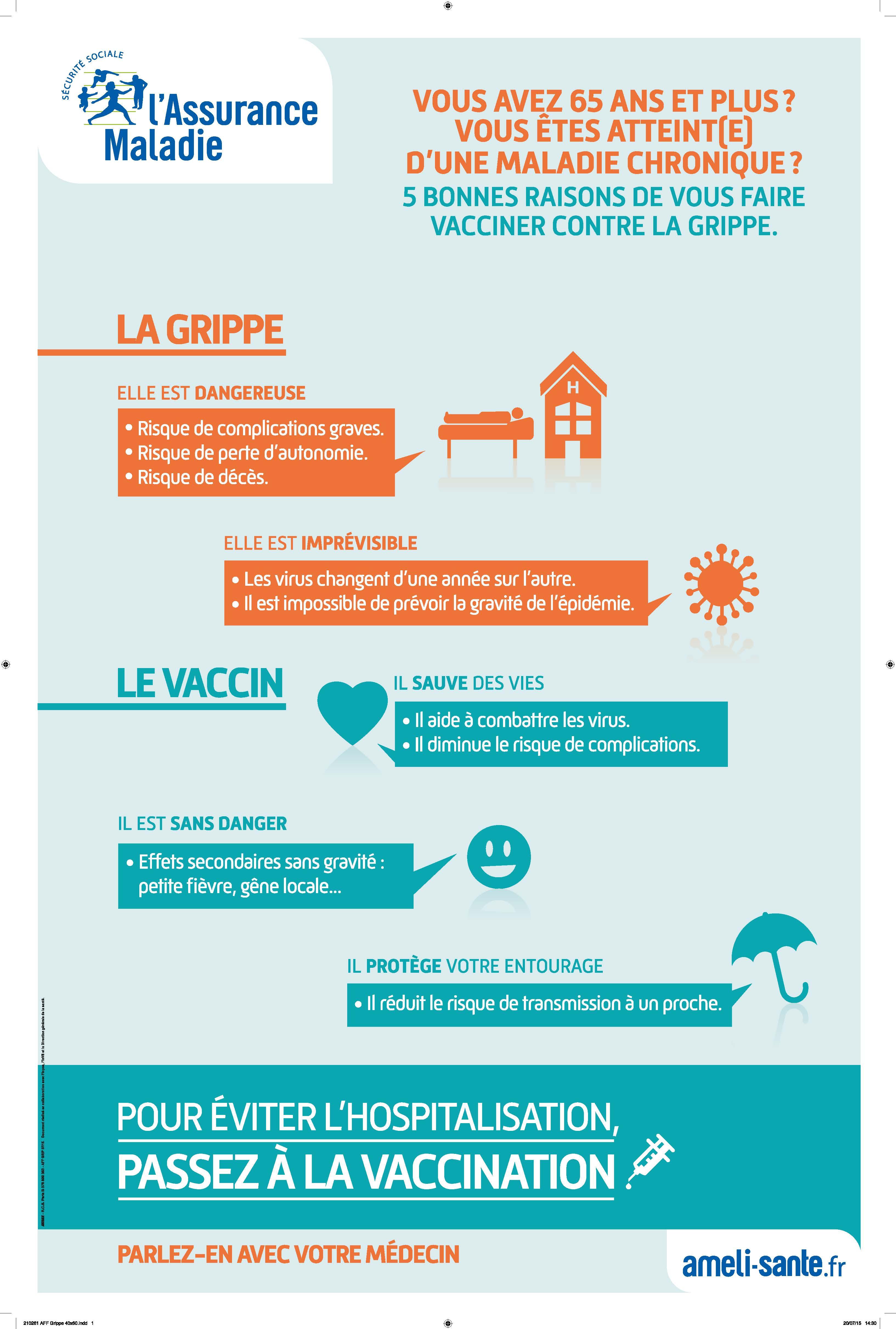 vaccin grippe risques
