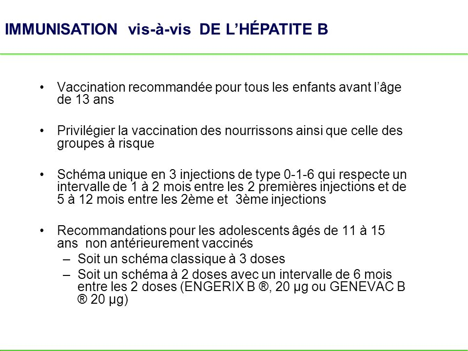 vaccin hepatite b 3 injections