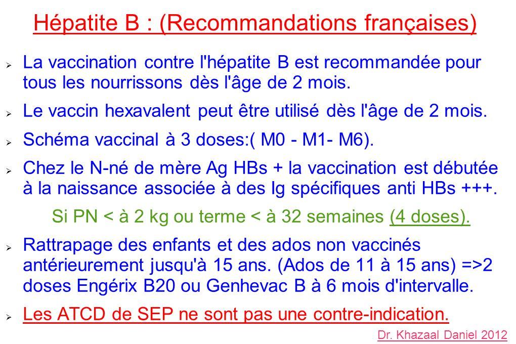 vaccin hepatite b fiable