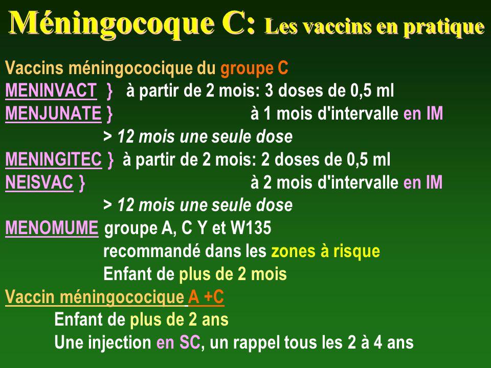 vaccin meningocoque