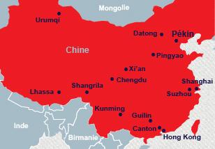 Carte Chine Voyage.Vaccin Obligatoire Voyage Chine