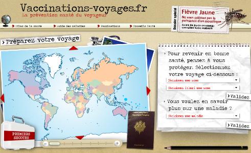 vaccin obligatoire voyage