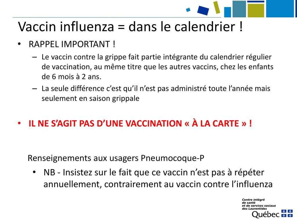 vaccin grippe 2 ans