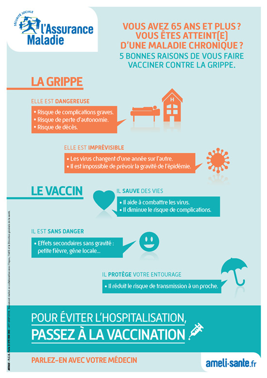 vaccin grippe a effets secondaires