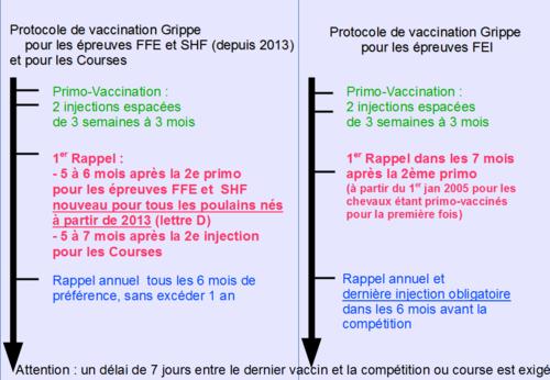 vaccin grippe equine