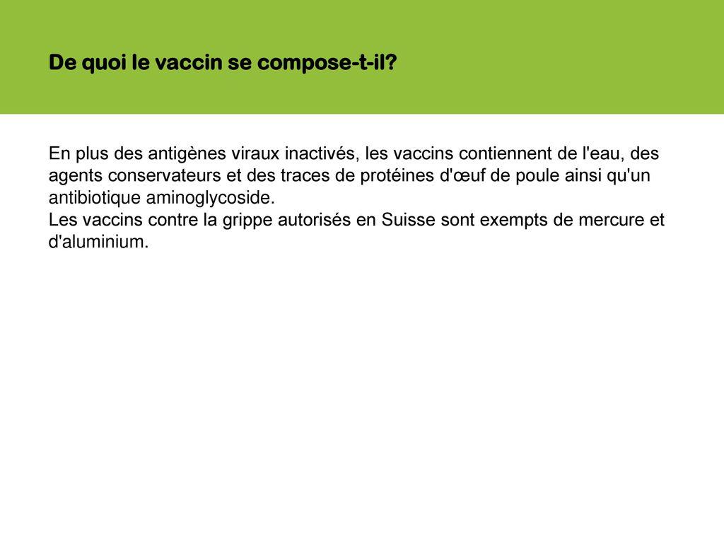 vaccin grippe mercure