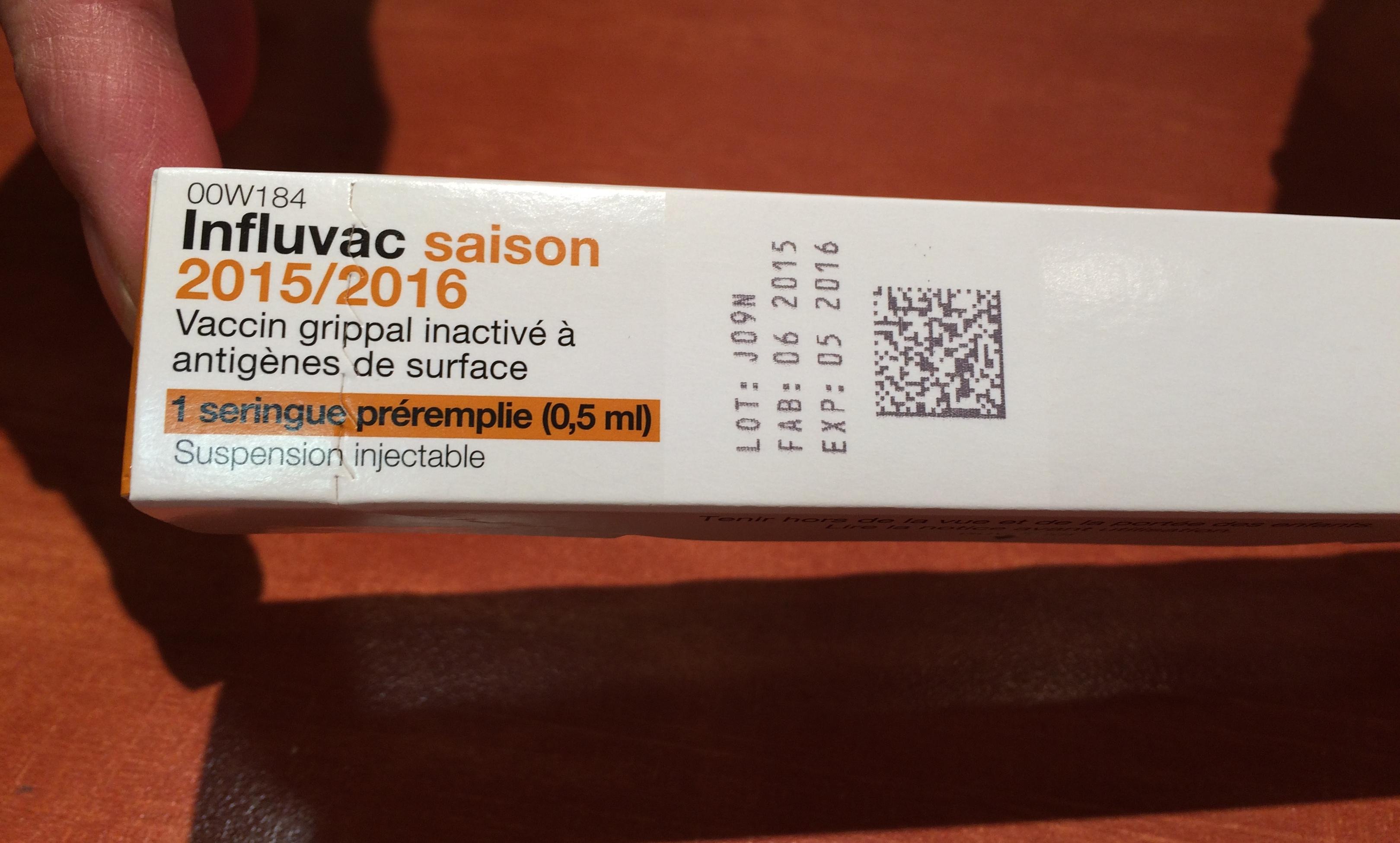 vaccin grippe nom