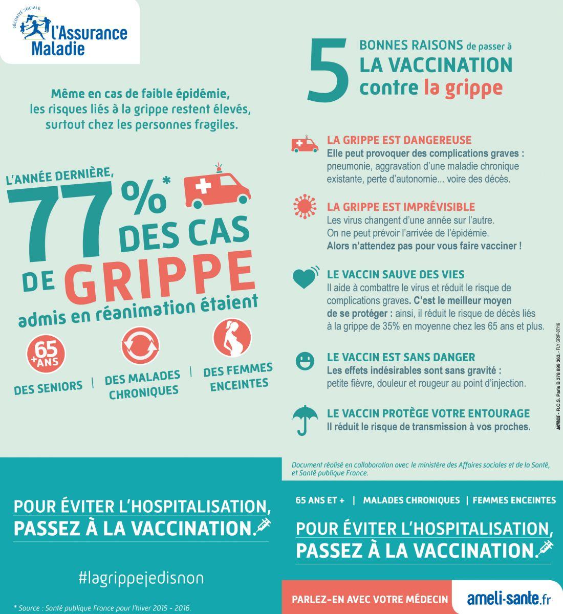 vaccin grippe obligatoire infirmiere