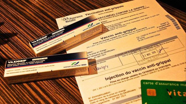 vaccin grippe ordonnance ou pas