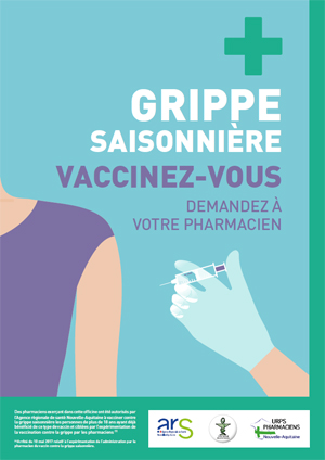 vaccin grippe pharmacie