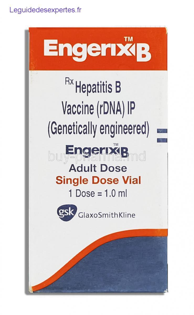 vaccin hepatite b engerix