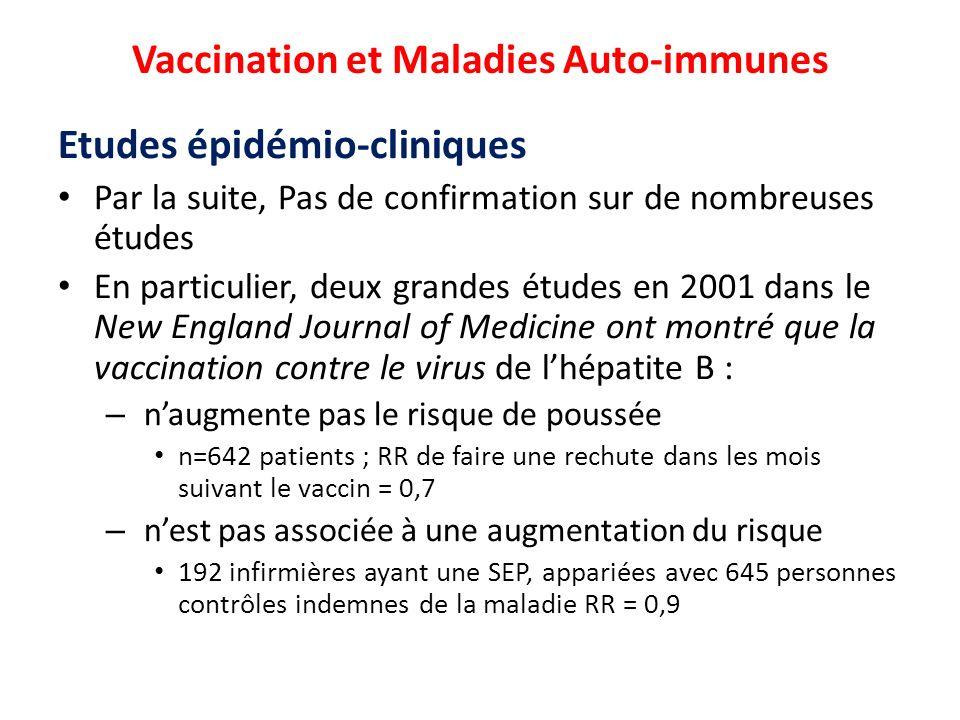 vaccin hepatite b et maladie auto immune
