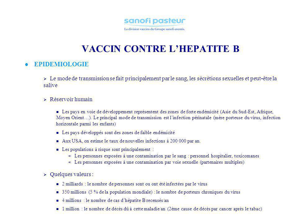 vaccin hepatite b mere porteuse