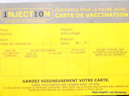 vaccin kinshasa