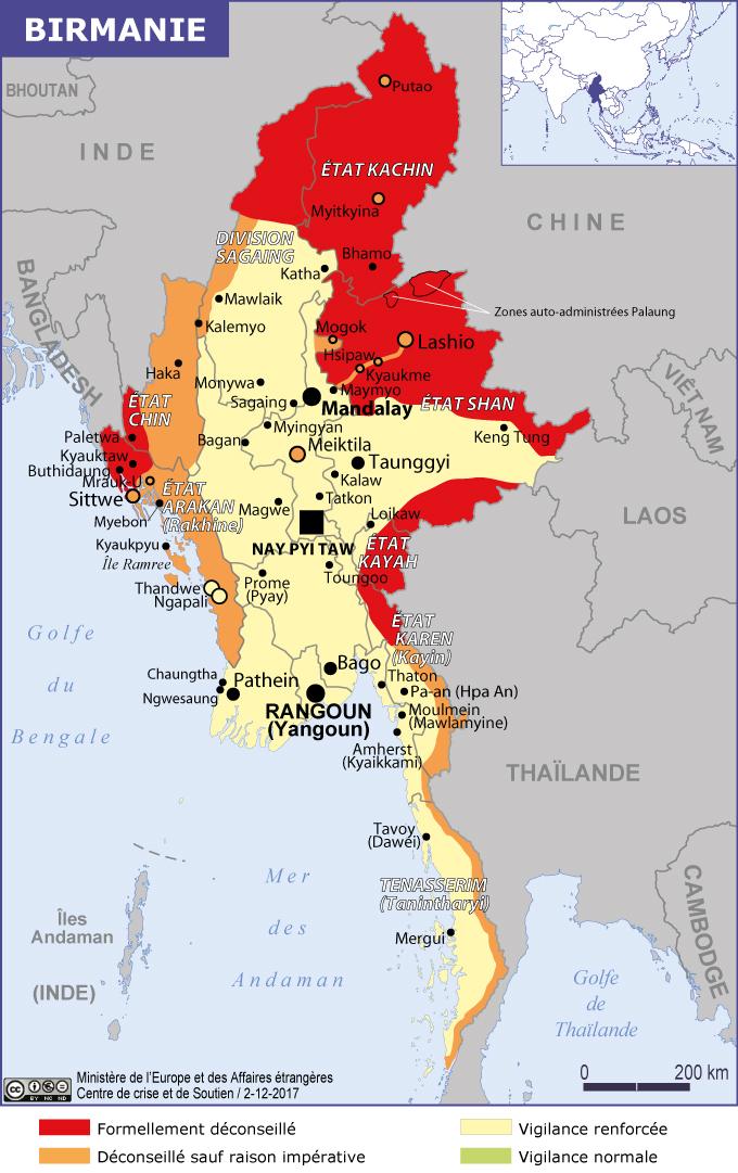 vaccin obligatoire birmanie