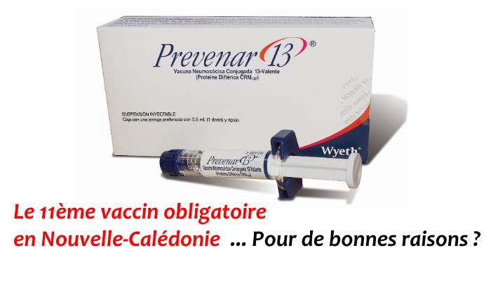 vaccin obligatoire nouvelle caledonie