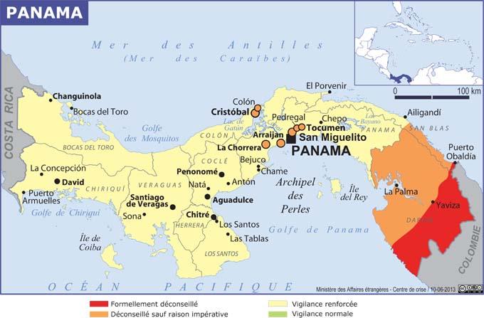 vaccin obligatoire pour le panama